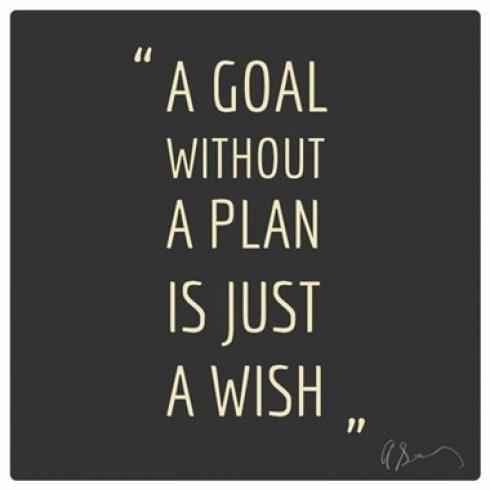 Goal Plan Wish