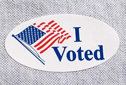 I voted 2